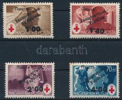 ** Ungvár II. 1945 Vöröskereszt Sor Bodor és Voloncs Szignóval (275.000) - Zonder Classificatie