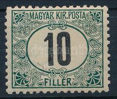 """** 1905 Zöldportó """"A"""" 10f  (140.000) (apró Ráncok / Minor Creases) - Zonder Classificatie"""
