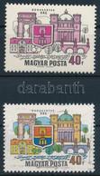 ** 1969 Dunakanyar 40f, Látványos Tévnyomat: Hiányzó Kék és Sárga Színnyomatok. A Szakirodalomban és A Bélyegkereskedele - Zonder Classificatie