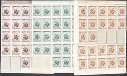 ** 1955 Bartók Béla I. 47 Db Sor Hiányos Hajtott ívekben+ 1 Ft Mind A Két Változat 1-1 önálló értéke (94.280) - Zonder Classificatie