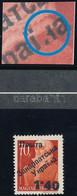 ** Ungvár II. 1945 Nagyasszonyok 1.40/70f Lemezhiba / Plate Variety. Signed: Bodor (80.000) - Zonder Classificatie