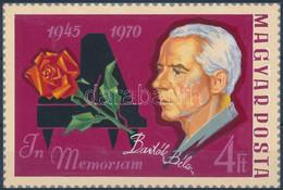 1970 Cziglényi Ádám Eredeti Bélyegterve A Bartók Halálának 25. évfordulójára Tervezett, Meg Nem Valósult Kiadáshoz 12 X  - Zonder Classificatie