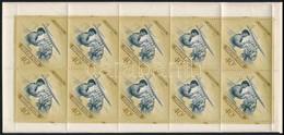 ** 1954 Repülőnap Bélyegfüzet (50.000) / Aviation Day Stamp Booklet - Zonder Classificatie