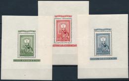 ** 1951 80 éves A Magyar Bélyeg Blokksor (51.000) - Zonder Classificatie