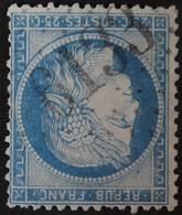 60C Obl BUREAU SUPPLEMENTAIRE GC 6133 Savigny-lès-Beaunes (20 Cote D'or ) Ind 9 - 1849-1876: Klassik