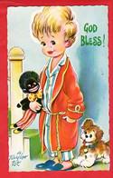 BAMFORTH TAYLOR TOTS   COMIC HUMOUR CHILDREN DOLL   DOG   GOD BLESS ! - Giochi, Giocattoli