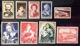 Sarre, Timbres Neufs ** (MNH) Principalement Et Quelques Oblitérés - Collections (without Album)