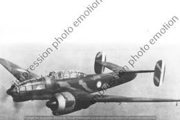 PHOTO AVION  RETIRAGE REPRINT     Potez 63 11 - Aviation