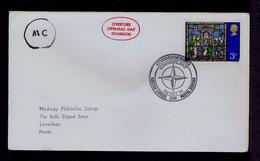 "ENGLAND Postal Service 1971 ""COMIBERLANT COMMISSIONING"" BRITISH FORCES NATO - OTAN  Gc5681 - NATO"