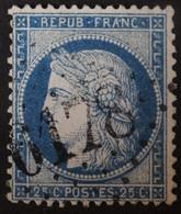 60A Obl BUREAU SUPPLEMENTAIRE GC 6178 Billy-Montigny (61 Pas De Calais ) Ind 11 - 1849-1876: Klassik