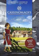 Dépliant Touristique - Cassinomagus 2020 - Les Thermes Gallo-romains ... (Chassenon) - Ill. Isabelle Dethan - Dépliants Touristiques