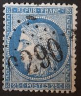 60A Obl BUREAU SUPPLEMENTAIRE GC 6290 Ecourt-st-Quentin (61 Pas De Calais ) Ind 14 - 1849-1876: Klassik