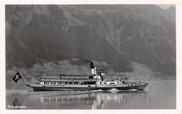 Brienzersee - Lötschberg - Bateau à Vapeur - Steamer - Dampfershiff - 1935 - Brienz - BE Berne