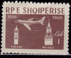 Albania, 1960, Jet Airline Tirana - Moscow, 1L, MLH - Albania