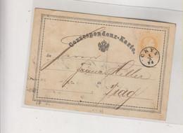 AUSTRIA, CZECH REPUBLIC CKYN CKYNE 1874 Postal Stationery - Cartas