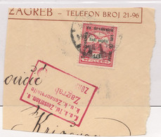 1916 Austria Hungary Empire ☀ Postmark Censored Zagreb Cenzura Zensur No 3 Cenzurirano Croatia - A Pmk Cancel Censor - Croatia