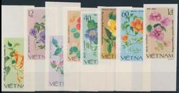 ** 1980 Virágok Vágott Sor Mi 1137-1144 - Unclassified