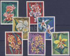 ** 1984 Orchideák Vágott Sor Mi 1425-1431 - Unclassified