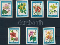** 1984 Virág Vágott Sor Mi 1417-1423 - Unclassified