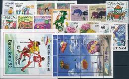 ** 1995-2006 6 Klf Sor + 3 Klf önálló érték + 1 Blokk + 1 Kisív - Unclassified