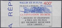 ** 1993 Az Első Francia Köztársaság évének 200. évfordulója ívszéli Vágott Bélyeg Mi 651 - Unclassified