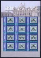 BEQUIA  - ST. VINCENT -  STAMP SHEET -  POPE JOHN PAUL II - BLOCK MINT NOT HINGED SOUVENIR, 6 - Pausen