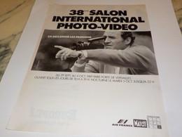 38 EME SALON PHOTO VIDEO  1989 - Unclassified