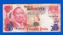 Botswana   1979  20  Puta  Sig 2 - Botswana