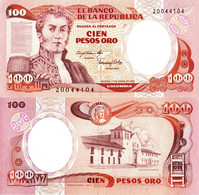 Colombia / 100 Pesos / 1986 / P-426(a) / VF - Colombia