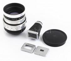 Meyer-Optik Görlitz Telefogar 90 Mm F/3.5 Objektív, Sapkával, Kissé Karcos Lencsével, Eredeti Papírdobozban + Altissa Un - Macchine Fotografiche