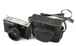 Belomo Vilia Szovjet Fényképezőgép, Triplet 69-3 40 Mm F/4 Objektívvel, Eredeti Tokjában, Kis Rozsdafoltokkal / Vintage  - Macchine Fotografiche