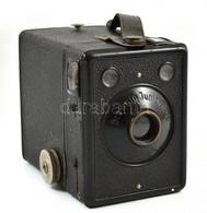 Cca 1935 Kodak Eastman Super Six-20 Brownie Junior Box Fényképezőgép, Működőképes, Jó állapotban / Vintage Kodak Box Cam - Macchine Fotografiche