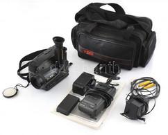 Panasonic VHS Compact Movie NV-S20E, Videokamera, Tartozékokkal, Leírással, Eredeti Táskájában, Nem Kipróbált. - Macchine Fotografiche