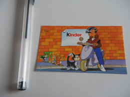 Autocollant - Alimentation - KINDER - Fred - Scooter- Chat - Autocollants