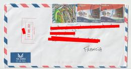 4255 Lettre Cover 2021 Via Aerea Par Avion Airmail PARAGUAY - Paraguay