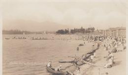 Vancouver BC Canada, Kitsilano Bathing Beach, Women Fashion C1910s Vintage Real Photo Postcard - Vancouver