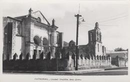 Ciudad Trujillo (now Santo Domingo) Dominican Republic, Cathedral Church, C1950s Vintage Real Photo Postcard - República Dominicana
