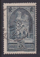Perforé/perfin/lochung France No 259 JZC J. Zuber Et Cie - Perforés