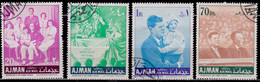Ajman, 1967, 50th Birth Anniversary Of John F. Kennedy, Used - Ajman
