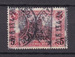 Deutsche Post In Der Türkei - 1905/13 - Michel Nr. 44 - Gestempelt - Offices: Turkish Empire