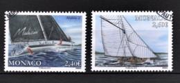 MONACO 2018 - SERIE YACHTING -Y.T. N° 3160 / 3161 - OBLITERES - Used Stamps