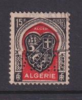 Perforé/perfin/lochung Algérie 1949 No DZ271 CIMA Cie Internationale Des Machines Agricoles - Gebraucht