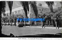 160441 ARGENTINA CORDOBA ALTA GRACIA UN ANGULO DEL SIERRAS HOTEL POSTAL POSTCARD - Argentine