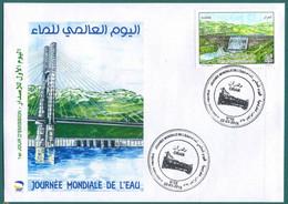 Algérie 2016 FDC 1739 Journée Mondiale De L'eau - Argelia (1962-...)