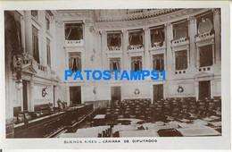 160446 ARGENTINA BUENOS AIRES CAMARA DE DIPUTADOS INTERIOR POSTAL POSTCARD - Argentine