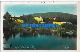 160449 ARGENTINA CORDOBA CARLOS PAZ RIO VISTA PARCIAL POSTAL POSTCARD - Argentine