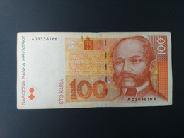 CROATIE 100 KUNA 1993 - Croatia