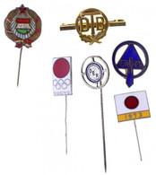 6xklf Jelvénytétel, Közte Japán Olimpiai Jelvény T:1-2- - Unclassified