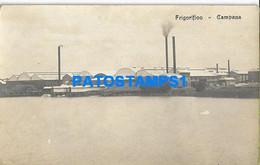 160461 ARGENTINA BUENOS AIRES CAMPANA FRIGORIFICO VISTA PARCIAL POSTAL POSTCARD - Argentine