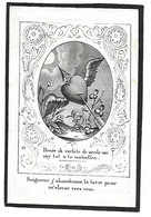 Maria Theresia Vaes, Rethy 1822 - Rethy 1845 - Todesanzeige